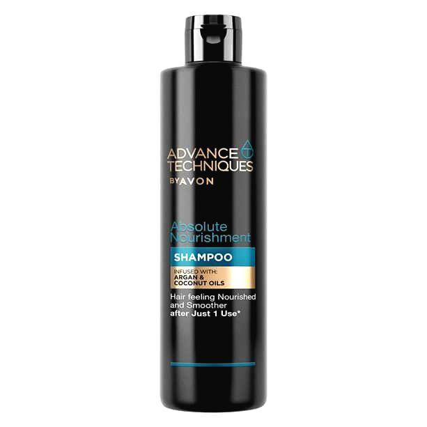 Avon Vyživujúci šampón s arganovým a kokosovým olejom (Absolute Nourish ment Shampoo)400 ml