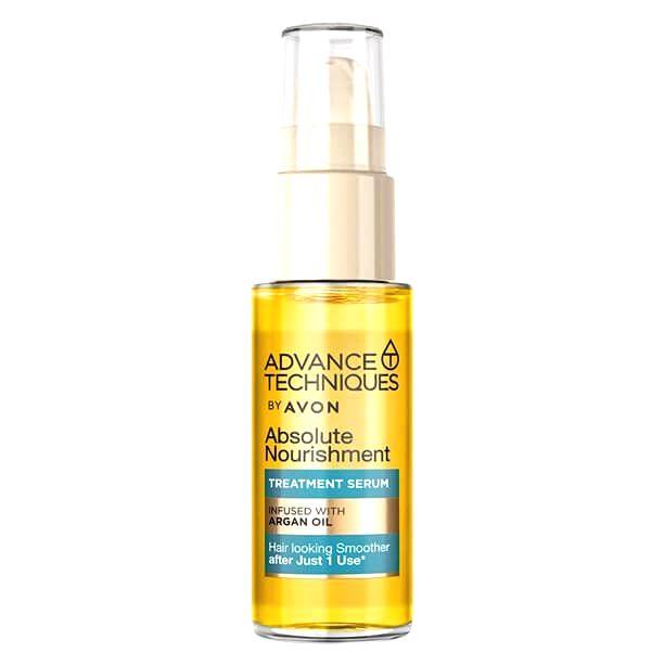 Avon Vyživujúce sérum na vlasy s arganovým olejom (Absolute Nourish ment Treatment Serum) 30 ml