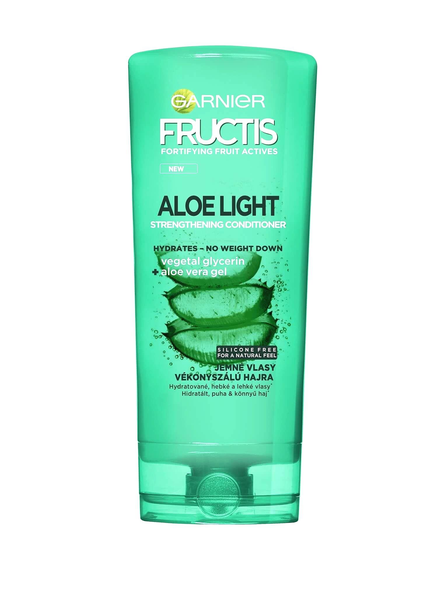 Garnier Balzam na posilnenie jemných vlasov s aloe vera ( Strength ening Conditioner) 200 ml