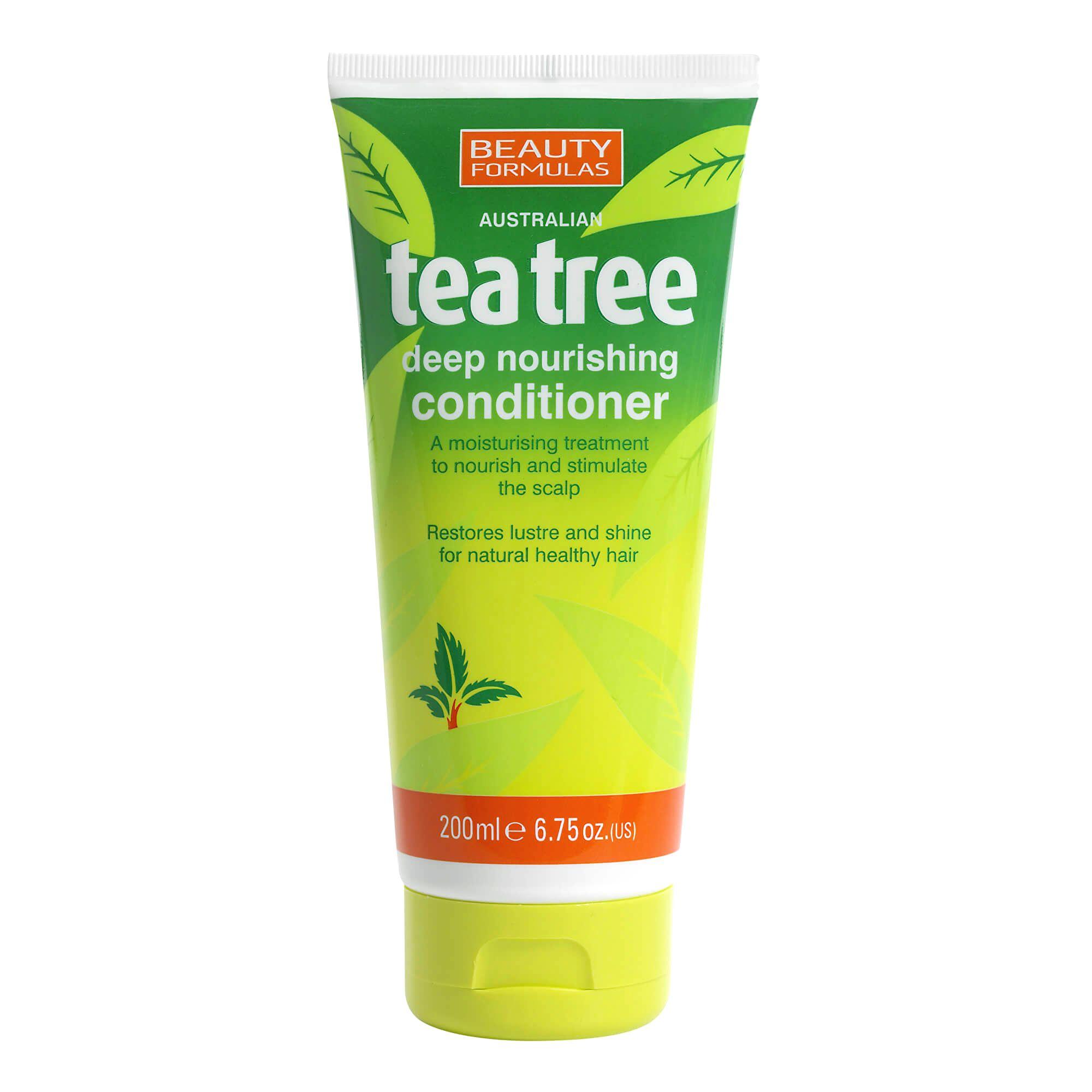 Beauty Formulas Vyživujúci kondicionér Tea Tree (Deep Nourishing Conditioner) 200 ml