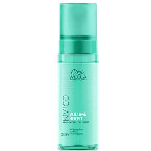 Wella Professionals Bezoplachová pena pre väčší objem jemných vlasov Invigo Volume Boost (Bodifying Foam) 150 ml