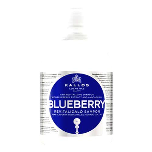 Kallos Revitalizačný šampón s výťažkom z čučoriedok (Blueberry Hair Shampoo) 1000 ml