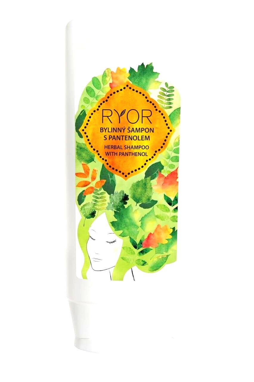 RYOR Bylinný šampón s panthenolom 200 ml