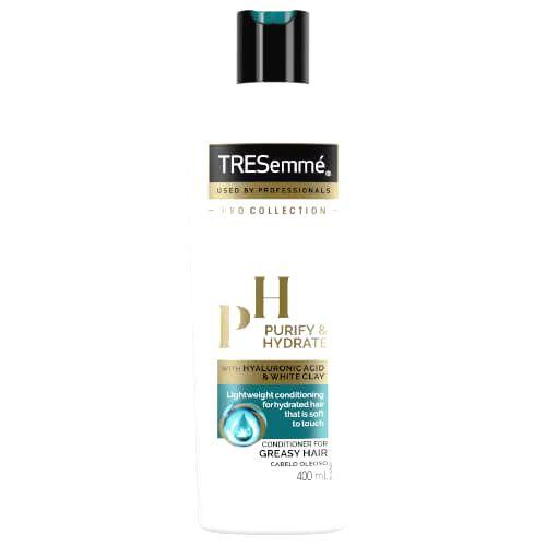 TRESemmé Čistiace kondicionér pre mastné vlasy Purify & Hydrate (Conditioner) 400 ml