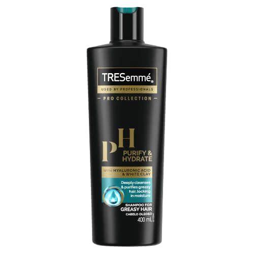TRESemmé Čistiace šampón pre mastné vlasy Purify & Hydrate (Shampoo) 400 ml