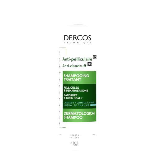 Vichy Šampón proti lupinám pre normálne až mastné vlasy Dercos390 ml