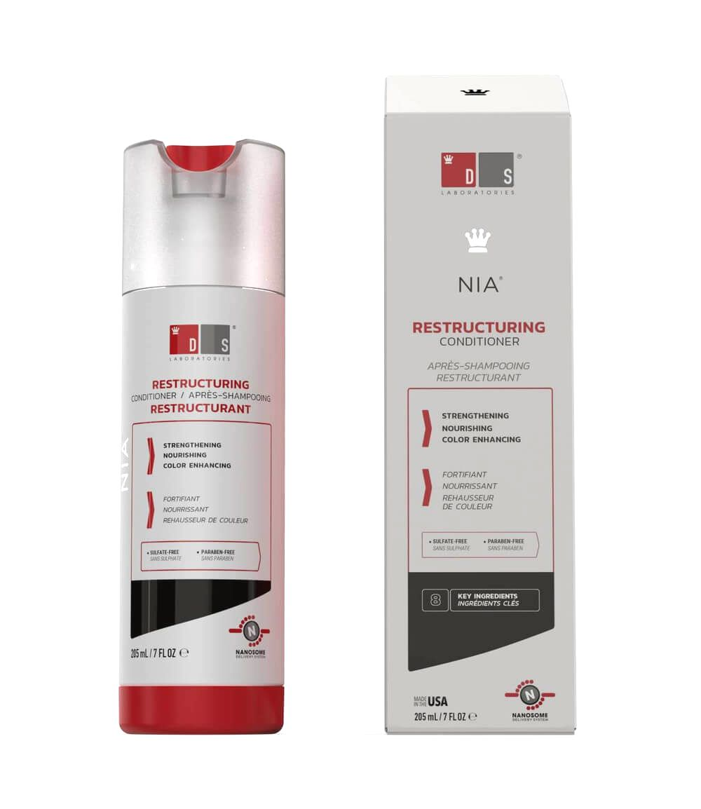 DS Laboratories Kondicionér na poškodené vlasy Nia (Restructuring Conditioner) 205 ml