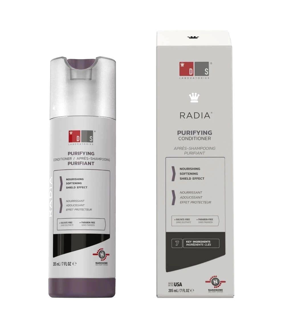 DS Laboratories Kondicionér pre citlivú pokožku hlavy Radia (Purifying Conditioner) 205 ml