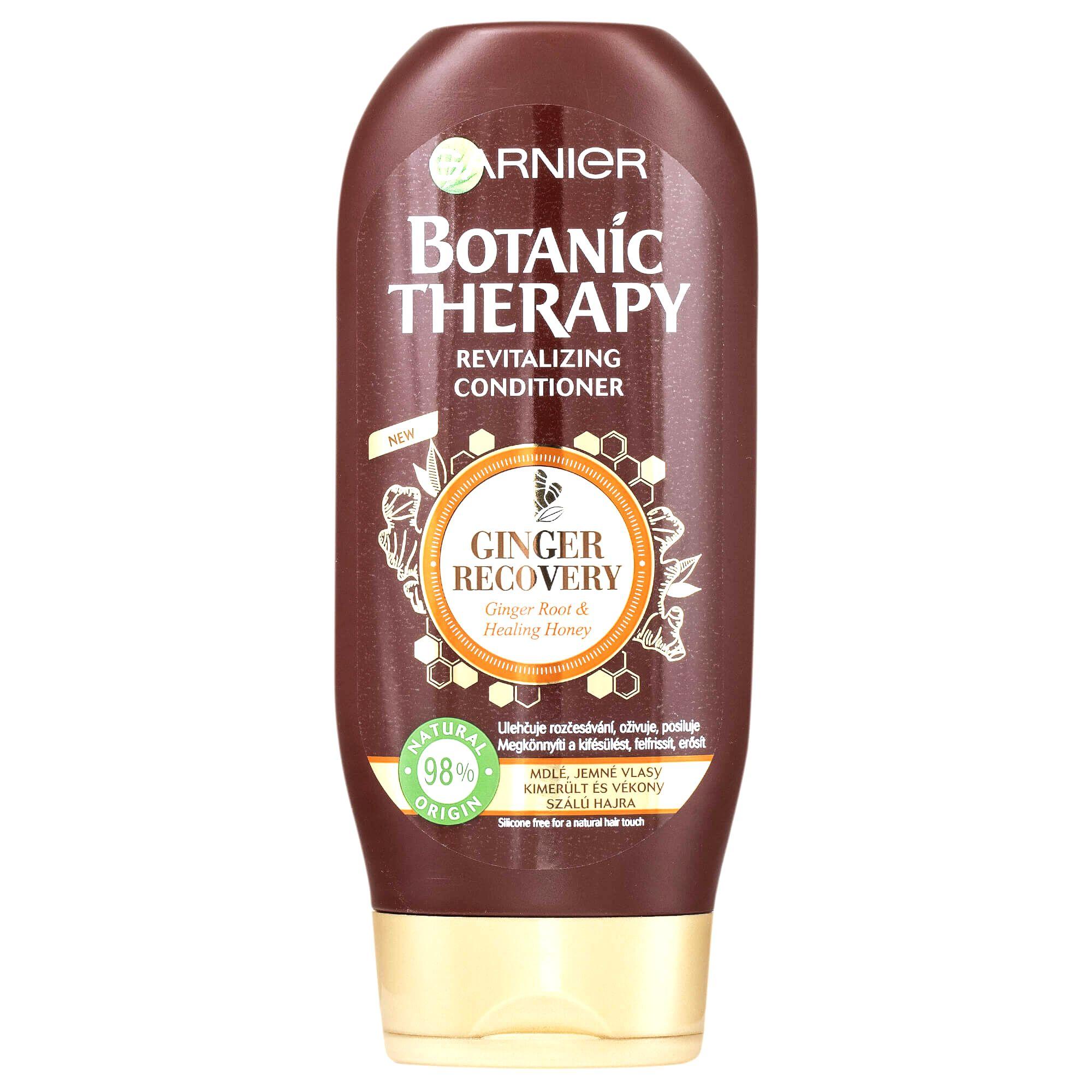 Garnier Revitalizačný kondicionér so zázvorom a medom pre mdlé a jemné vlasy Botanic Therapy (Revitalizing Conditioner) 200 ml