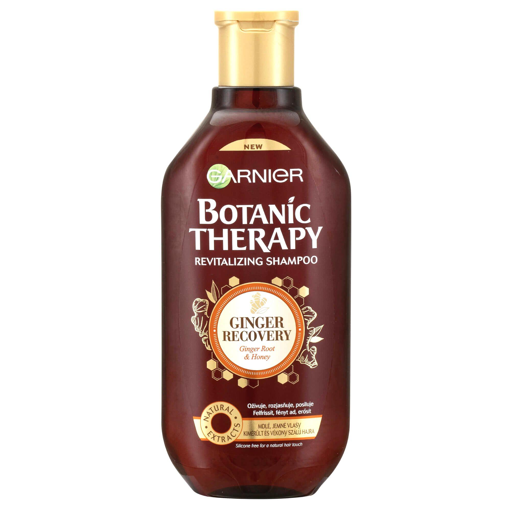 Garnier Revitalizačný šampón so zázvorom a medom pre mdlé a jemné vlasy Botanic Therapy (Revitalizing Shampoo)400 ml
