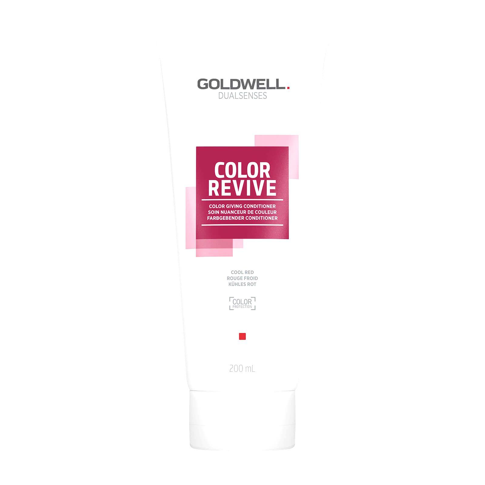 Goldwell Tónovacie kondicionér Cool Red Dualsenses Color Revive ( Color Giving Condicioner)200 ml