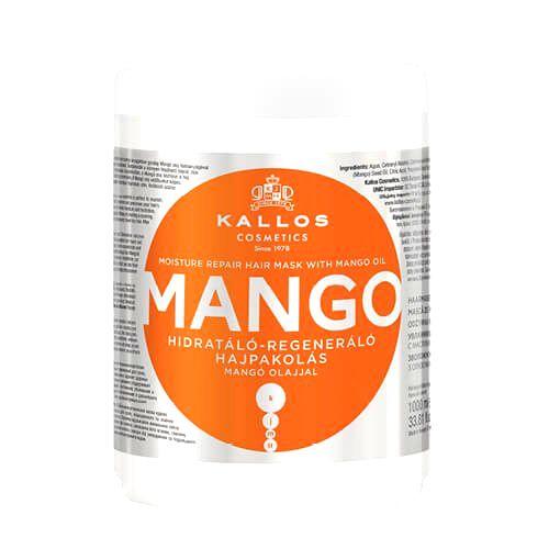 Kallos Hydratačná maska s mangovým olejom (Mango Mask)1000 ml