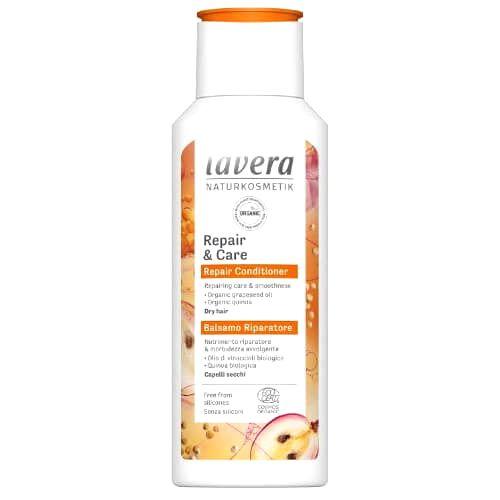 Lavera Intenzívne kondicionér pre suché a namáhané vlasy ( Repair & Care ) 200 ml