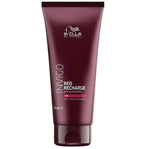 Wella Professionals Kondicionér pre oživenie červených odtieňov vlasov Invigo Red Recharge (Color Refreshing Conditioner) 200 ml