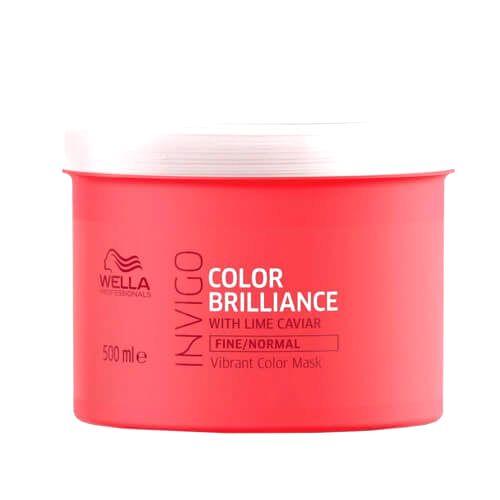 Wella Professionals Maska pre jemné farbené vlasy Invigo Color Brilliance (Vibrant Color Mask)30 ml