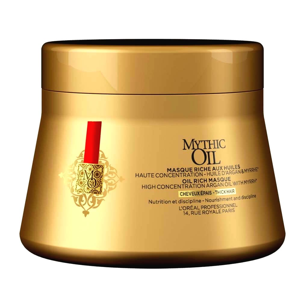 L´Oréal Professionnel Olejová maska pre silné a nepoddajné vlasy Mythic Oil(Oil Rich Masque)200 ml 3474636391097