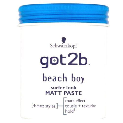 got2b Matná pasta na vlasy Beach Boy (Surfer Look Matt Paste) 100 ml