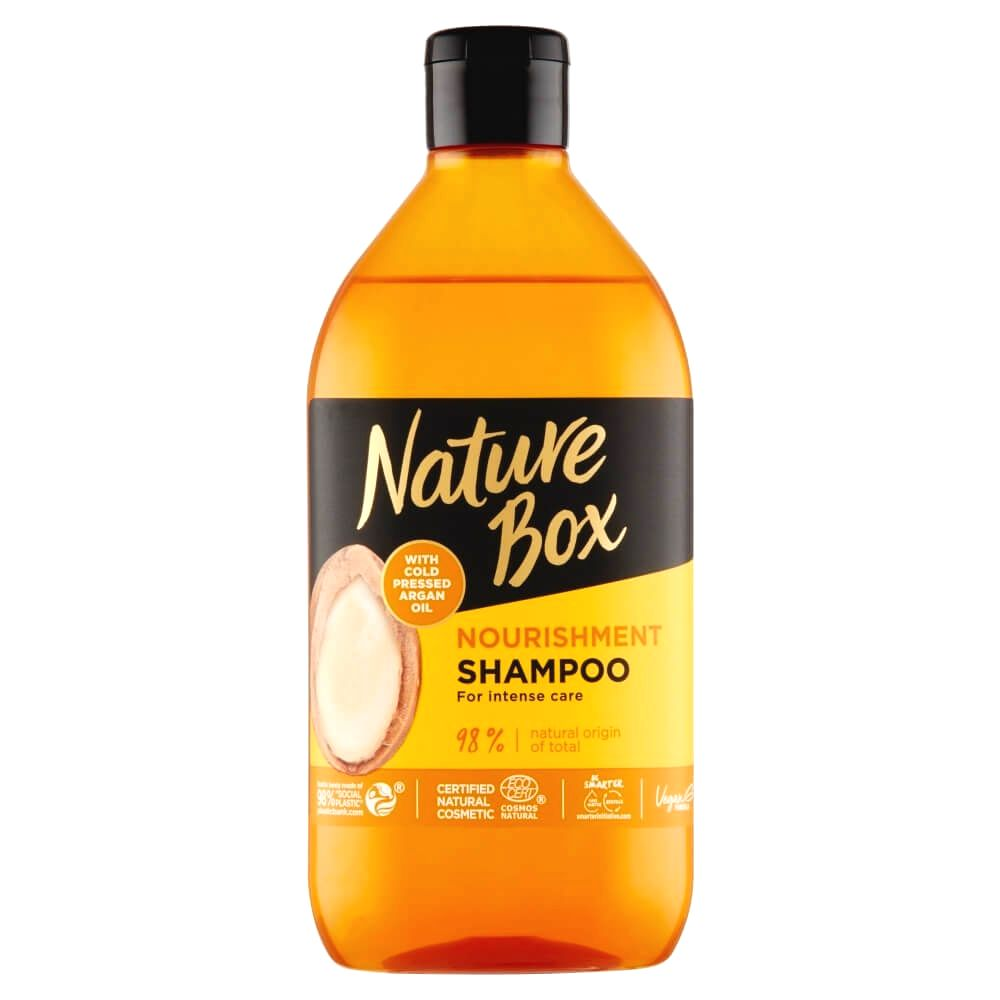 Nature Box Prírodné šampón Argan Oil ( Nourish ment Shampoo) 385 ml