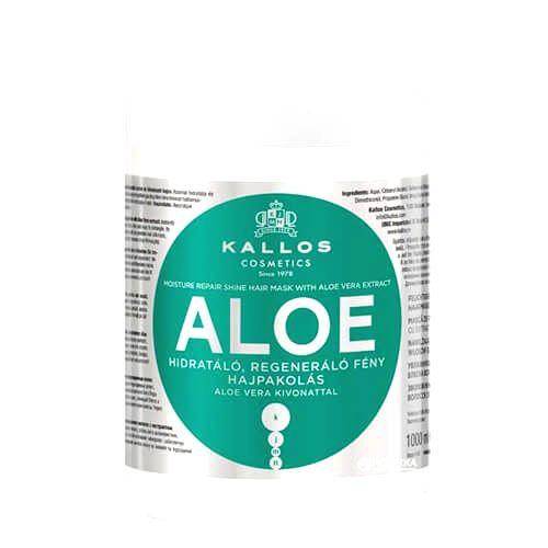 Kallos Obnovujúci maska s Aloe Vera (Aloe Vera Moisture Repair Shine Hair Mask)1000 ml