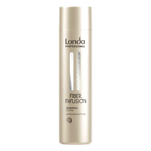 Londa Professional Obnovujúci šampón s keratínom pre poškodené vlasy Fiber Infusion (Shampoo)250 ml