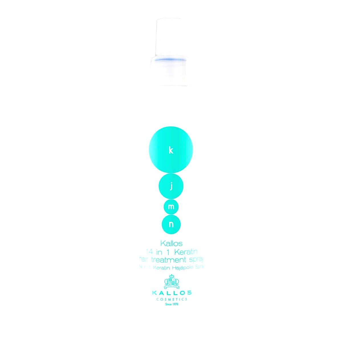 Kallos Ošetrujúce keratínová maska v spreji 14 v 1 KJMN (14 in 1 Keratin Hair Treatment Spray) 200 ml