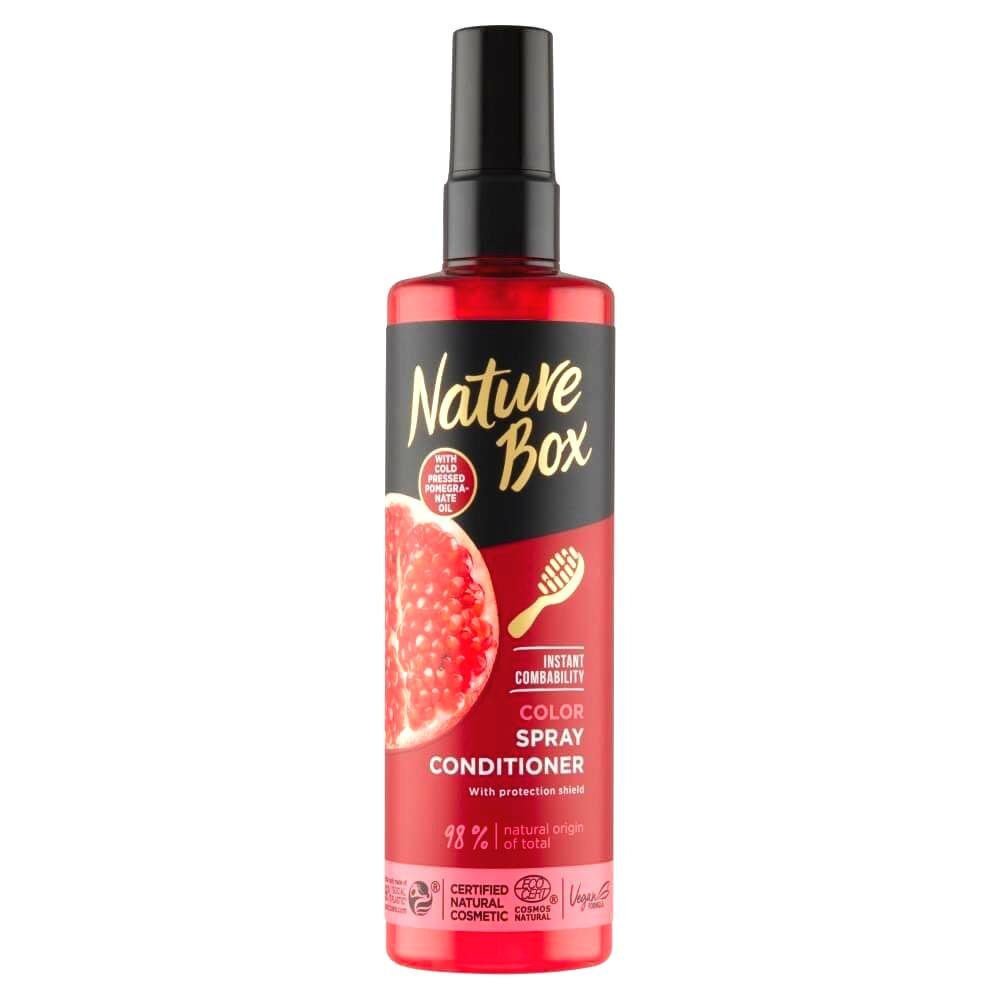 Nature Box Prírodné balzam v spreji Pomegranate Oil (Spray Conditioner) 200 ml