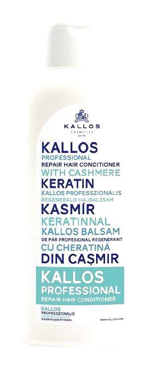 Kallos Pro fesionálny obnovujúci kondicionér s keratínom (Professional Repair Hair Conditioner With Cashmere Keratin)1000 ml