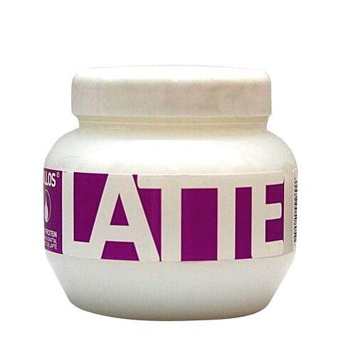 Kallos Regeneračná maska s bielkovinami a aminokyselinami Latte (Latte Hair Mask)800 ml