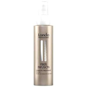 Londa Professional Rekonštrukčné kúra s keratínom pre poškodené vlasy Fiber Infusion (5 Minute Treatment) 100 ml