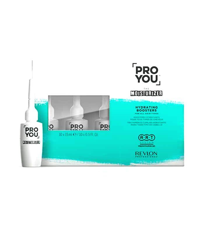 Revlon Professional Hydratačný kúra pre suché vlasy Pro You The Moisturizer ( Hydrating Boosters) 10 x 15 ml