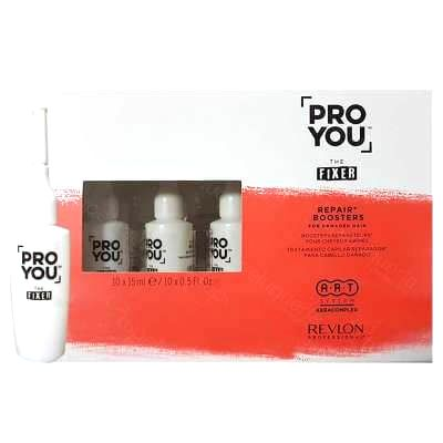 Revlon Professional Rekonštrukčné kúra pre poškodené vlasy Pro You The Fixer ( Repair Boosters) 10 x 15 ml