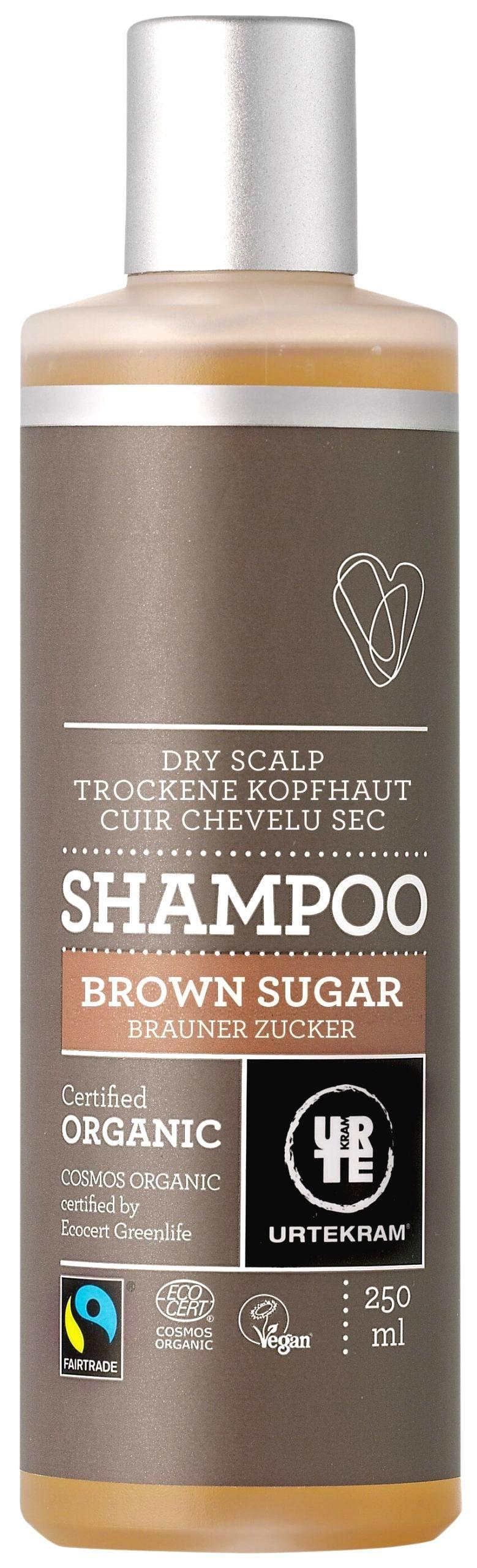 Urtekram Šampón brown sugar 250 ml BIO