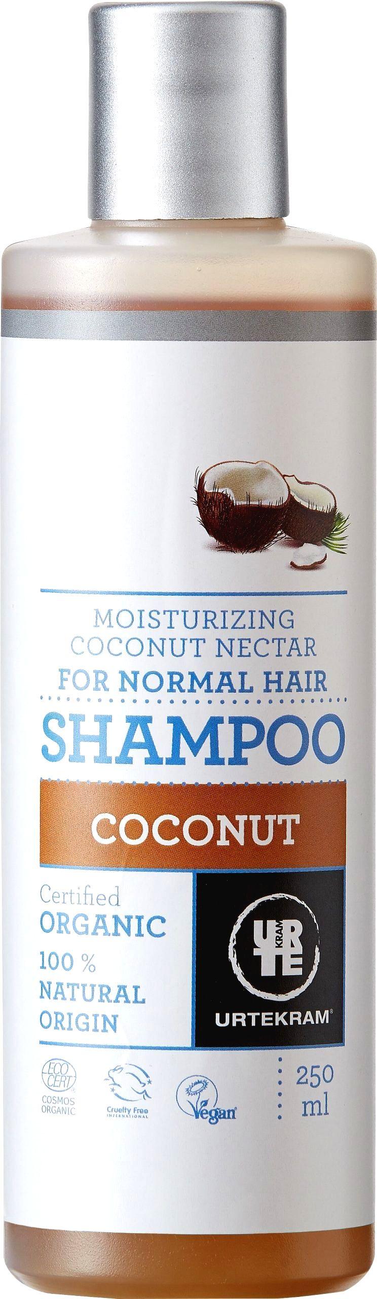 Urtekram Šampón kokosový 250 ml BIO
