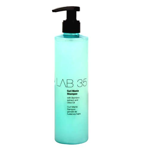 Kallos Šampón pre vlnité vlasy LAB35 (Curl Shampoo With Bamboo Extract And Olive Oil) 300 ml