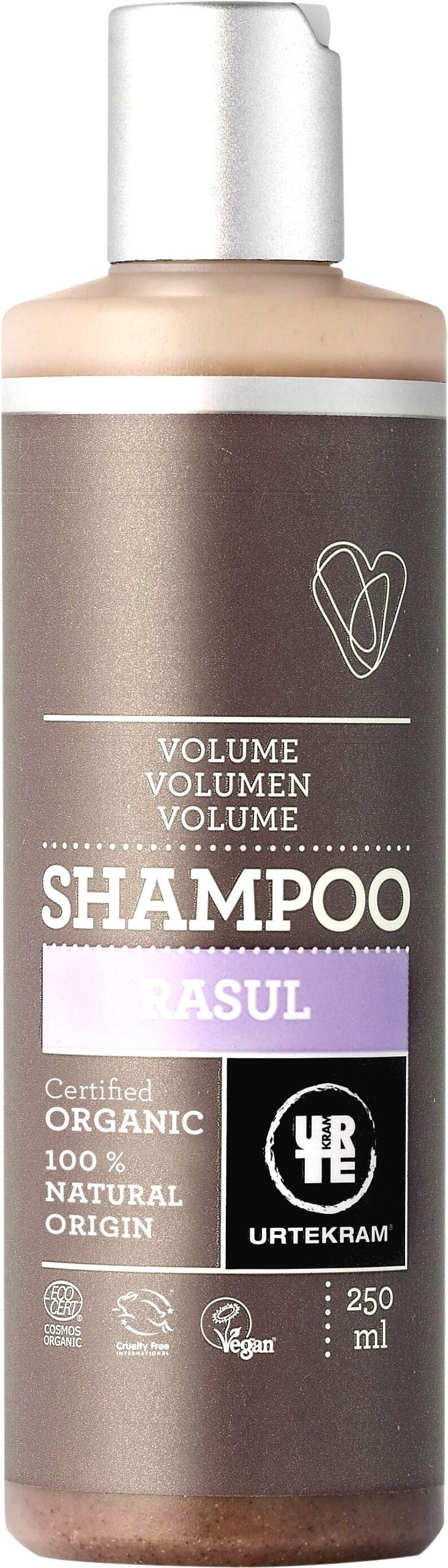 Urtekram Šampón rhassoul - na objem 250 ml BIO