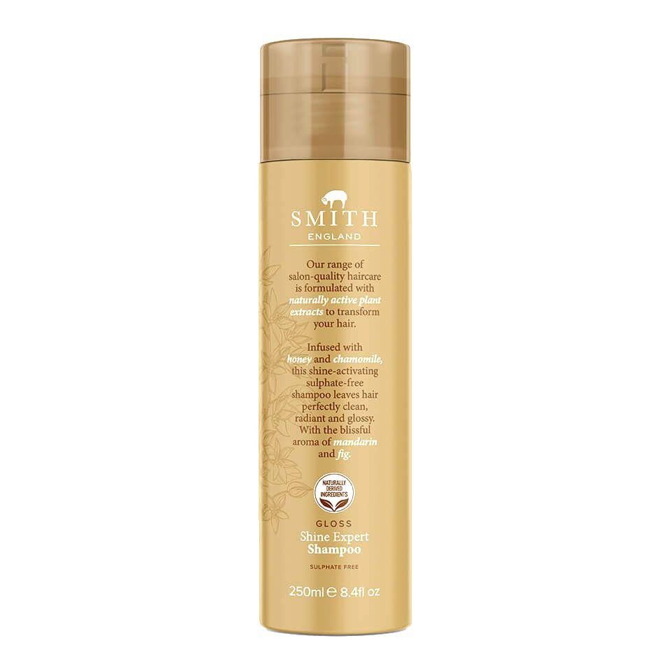 Smith England Šampón pre oslnivý lesk vlasov ( Shine Expert Shampoo) 250 ml