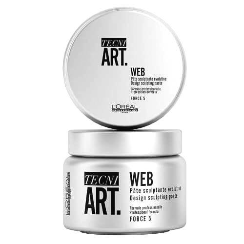 L´Oréal Professionnel Stylingová pasta na vlasy Tecni.Art Web (Desing Sculpting Paste) 150 ml