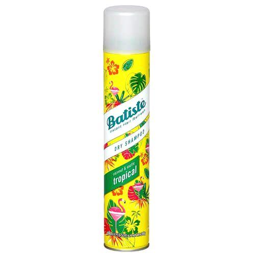 Batiste Suchý šampón na vlasy s vôňou tropického ovocia (Dry Shampoo Tropical With A Coconut & Exotic Fragrance)50 ml