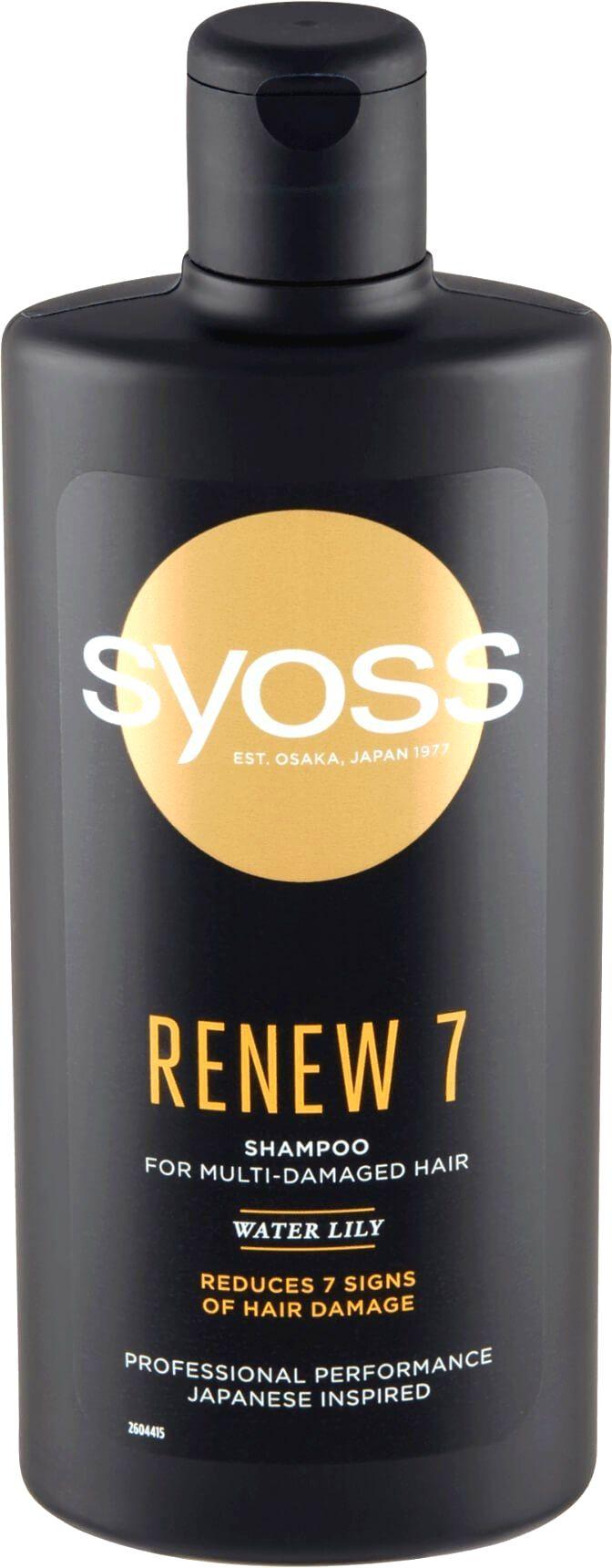 Syoss Šampón pre veľmi poškodené vlasy Renew 7 (Shampoo)440 ml