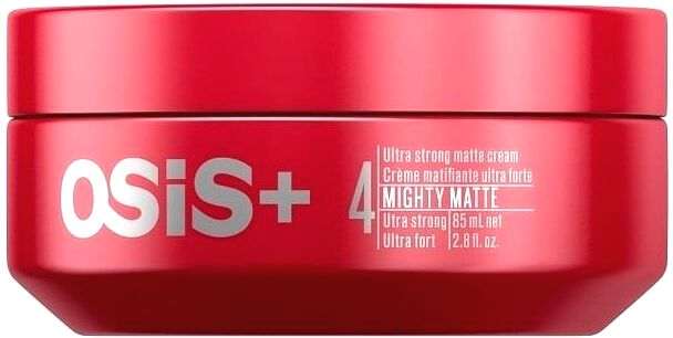 Schwarzkopf Professional Ultra silný zmatňujúci krém na vlasy OSIS mighty Matte (Ultra Strong Matte Cream) 85 ml