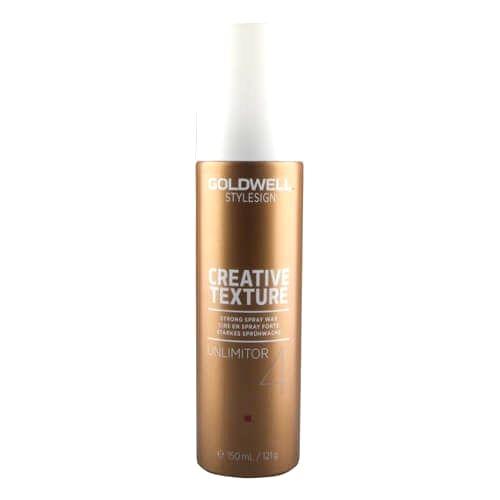 Goldwell Vosk na vlasy v spreji StyleSign Creative Texture ( Strong Spray Wax Unlimitor 4) 150 ml - ZĽAVA - poškodený obal