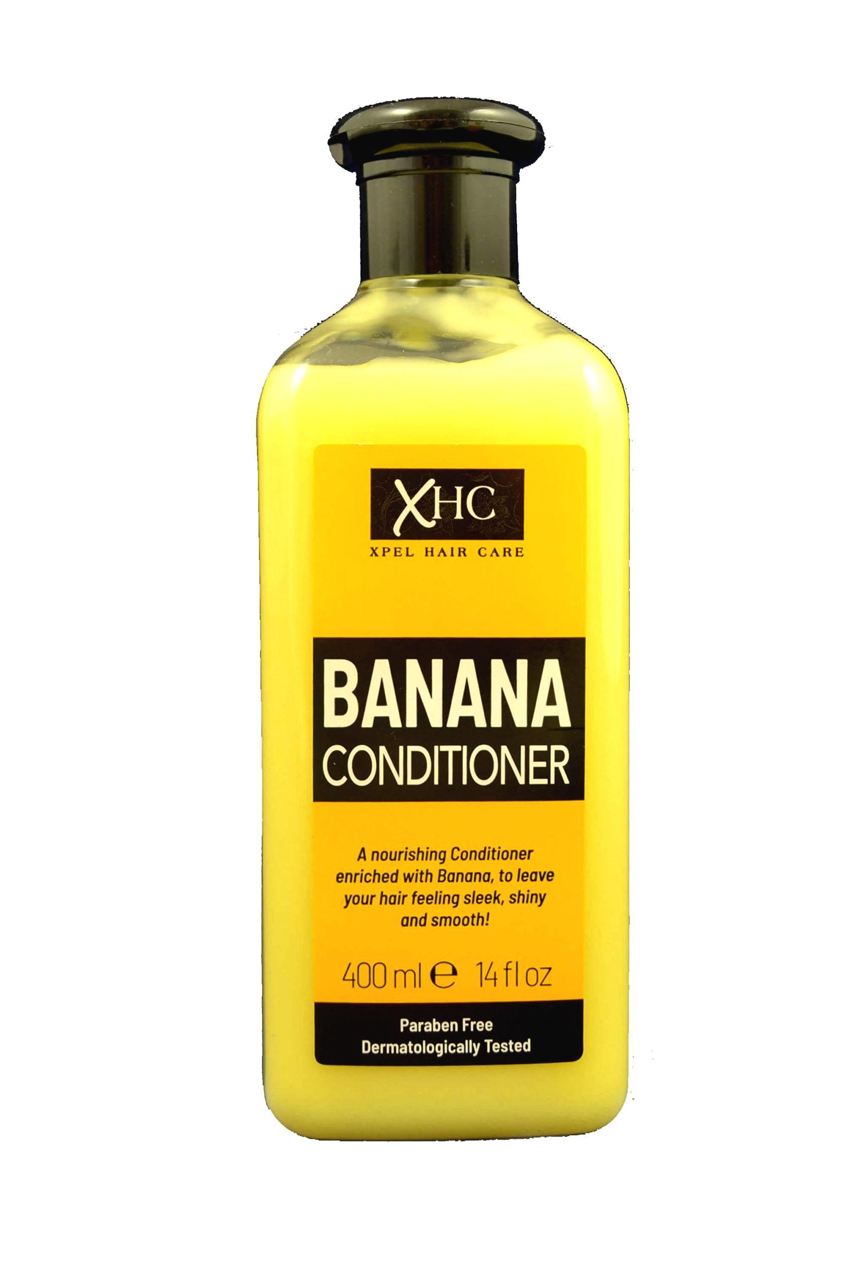 XPel Vyživujúci kondicionér s vôňou banánov (Banana Conditioner) 400 ml