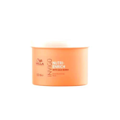 Wella Professionals Vyživujúca maska pre suché a poškodené vlasy Invigo Nutri- Enrich (Deep Nourishing Mask)30 ml
