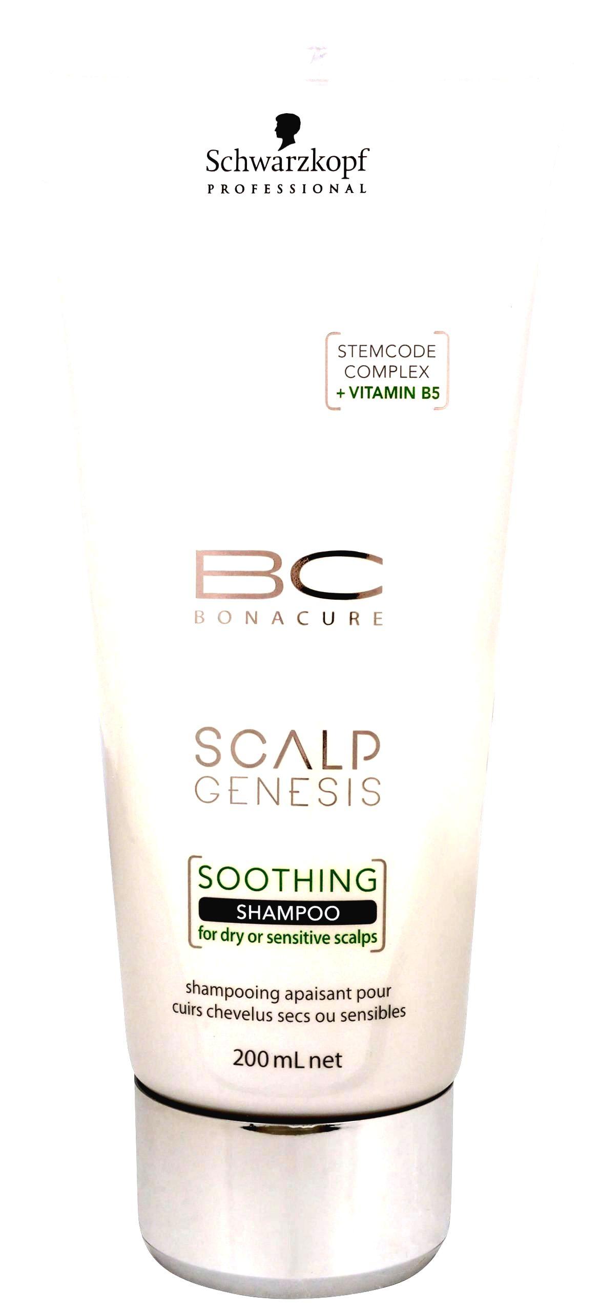 Schwarzkopf Professional Upokojujúci šampón pre suchú a citlivú vlasovú pokožku BC Bonacure Scalp Genesis (Soothing Shampoo)200 ml