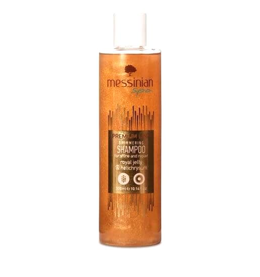Messinian Spa Šampón pre lesk a regeneráciu materská kašička & slamiha 300 ml