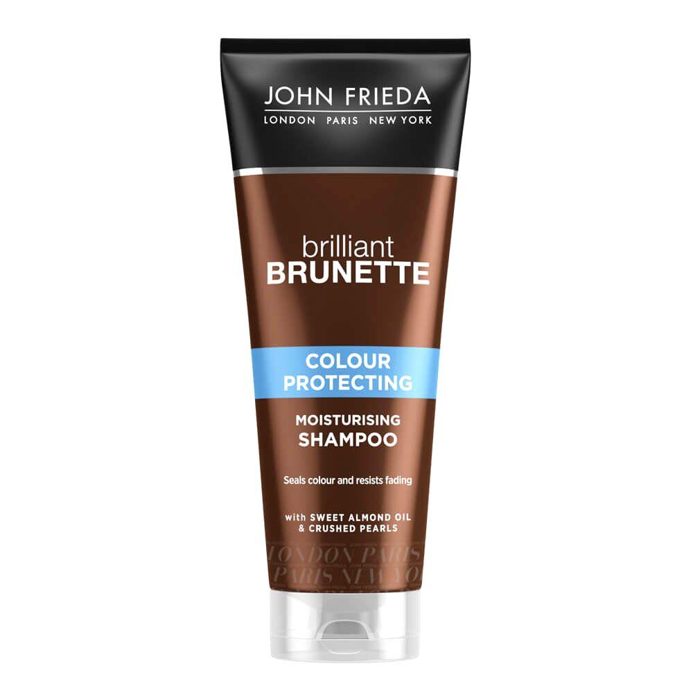 John Frieda Hydratačný šampón na farbené vlasy Brilliant Brunette Colour Protecting ( Moisturising Shampoo) 250 ml