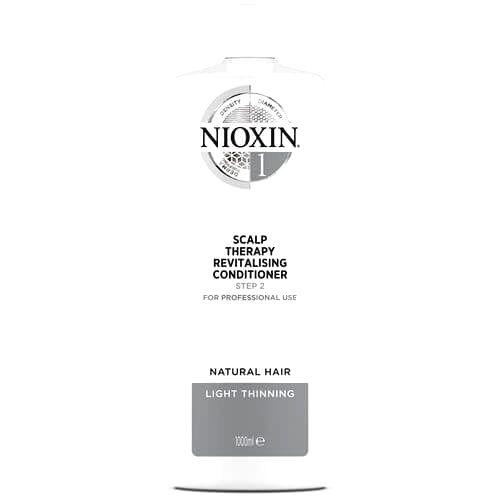 Nioxin Revitalizer pokožky pre jemné mierne rednúce prírodné vlasy System 1 (Conditioner System 1 )1000 ml